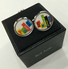 Paul Smith Cufflinks MULTICOLOURED PAUL SMITH Cufflinks with Round T Bar Swings