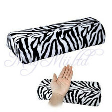 Salon Zebra Stripe Soft Pillow Rest Soft Manicure Nail Art Hand Cushion
