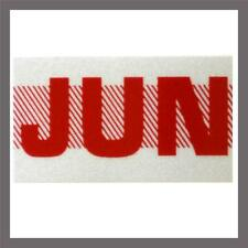June Month California DMV License Plate Red Registration Sticker Tag YOM CA
