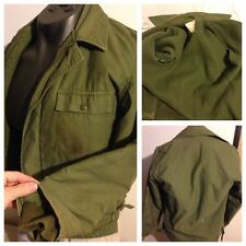 Vintage OG USMC Army Wool Lined Jacket Field Korean Vietnam Mash