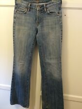 Seven For All Man Kind Bootcut Woman's Jean Size 24