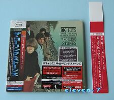 Rolling stones big hits Japon MINI LP CD shm + promo Obi Brand New & still sealed