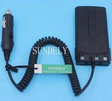 KNB-15A KNB-20N Car Charger Battery Eliminator For Kenwood Radio TK-3102 TK-3107
