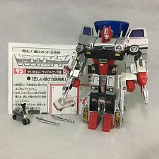 Transformers G1 e-Hobby 95 Crosscut! 2002 Takara Diaclone Edition Skids Complete