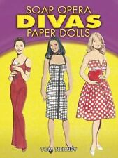 Soap Opera Divas Paper Dolls (Dover Celebrity Paper Dolls)-ExLibrary