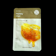 THEFACESHOP - Real Nature Honey Miel Moisturizing Hydratant Facial Mask Sheet