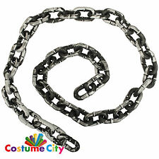 "72"" Prop Chain Halloween Prisoner Dungeon Ghost Fancy Dress Costume Accessory"
