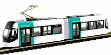 Turquoise and White N Gauge / N Scale Articulated Tram - Light Rail BNIB