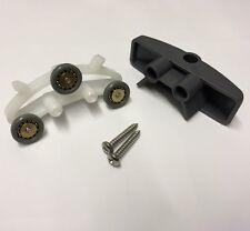 1 x Shower Door Rollers/Runners/Spares/ Triple Wheels 17mm Wheel Diameter KH2