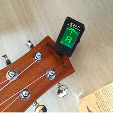 New LCD Clip on Guitar Digital Tuner Electronic Guitar Tuner Bass Violin Ukulele