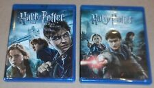 Harry Potter and the Deathly Hallows: Part I & 2 (Blu-ray Disc, 2011, 6-Disc)