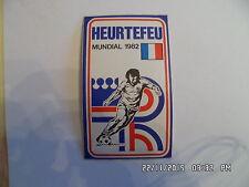 AUTOCOLLANT HEURTEFEU FRANCE MUNDIAL FOOTBALL 1982  I52
