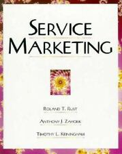Service Marketing : Quality and Financial Impact with Software by Timothy L....