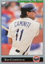 140   KEN CAMINITI    HOUSTON ASTROS BASEBALL CARD LEAF 1992