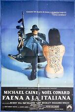 THE ITALIAN JOB MOVIE POSTER  Michael Caine Original 1969 - Argentina