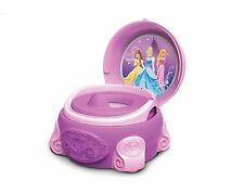 TOMY Disney Princess 3-in-1 Pink Girls Potty Chair Training Seat System - y9992
