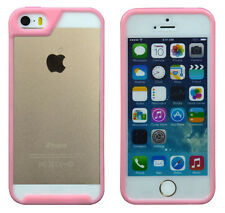 Pink Patent built-in screen protector + bumper phone case for iphone 5s/5/5G