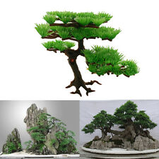 Art Aquarium Fish Tank Tree Plant Rockery Bonsai Hotel Underwater Ornament Decor