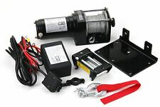 3000LB  Power Cable Winch Kit ATV UTV Truck Trailer Remote Control 12 Volt