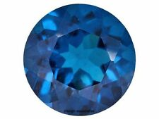 NEON APATITE NATURAL 2.00  MM ROUND CUT  BLUE OUTSTANDING NEON COLOR 4 PCS