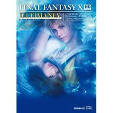 Final Fantasy X HD Remaster Ultimania strategy guide book / PS Vita