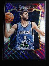 2014-15 Panini Select #32 Ricky Rubio Timberwolves Basketball Prizms Purple Card