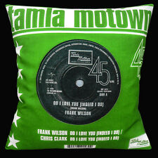 "TAMLA MOTOWN NORTHERN SOUL FRANK WILSON DO I LOVE YOU 16"" Pillow Cushion Cover"