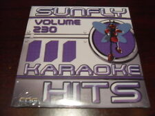 SUNFLY HITS KARAOKE  DISC SF230 VOLUME 230 CD+G SEALED 15 TRACKS