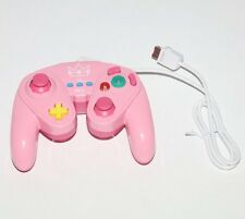SUPER SMASH BROS WIRED FIGHT PAD PRINCESS PEACH - NINTENDO WIIU