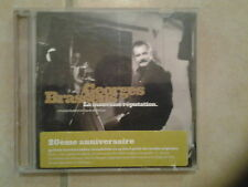 27396 //GEORGES BRASSENS LA MAUVAISE REPUTATION  45 TITRES  2 CD EN TBE