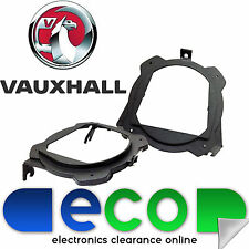 "Vauxhall Corsa B 1993 - 2000 Rear Side Car Speaker Brackets Rings 5.25"" 13cm"