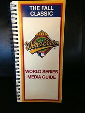 1996 World Series Media Guide Program  Ny Yankees