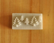Christmas Tree Pine Tree  Resin Seal Soap Stamp For Handmade Soap Candle Candy