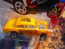 HOT WHEELS CUSTOM '55 CHEVY BELL AIR GASSER 14 MOONEYES