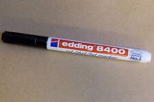 Edding 8400 schwarz Permanentmarker Marker 0,5 - 1 mm Stift Stifte fein Neu