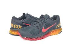 Nike Air Max+ 2013, NEW IN BOX, SKU 554886 068. CHARCOAL/ORANGE/RED