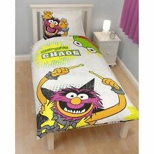 MUPPETS KERMIT ANIMAL SINGLE DOONA QUILT COVER SET NEW