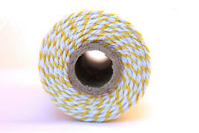 12 Ply Yellow Bakers Twine 100 yard spool 12 Ply Thick Cotton String