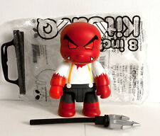 "Qee 8 inch - 8"" - Toy2r - Street Art Toy - Kidrobot - Vinyl urban street art"
