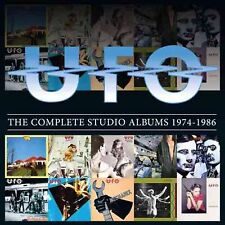 UFO - THE COMPLETE STUDIO ALBUMS 1974-1986 - 10 CD BOXSET