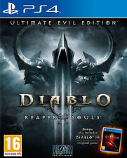 Diablo III: Reaper of Souls Ultimate Evil Edition Sony PlayStation 4 SEALED PS4