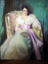 Lady Agnew  - W.Kowal - after J.Sargent  - oil painting
