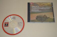 Sibelius - Finlandia, Tapiola, ... / Berglund / EMI 1983 / Made In Japan / Rar