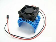 Aluminum Heat sink&5V Cooling Fan for 1/10 Car 540 550 Size Motor Lots Warehouse