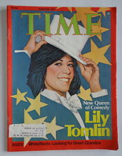TIME magazine M28 1977 Queen of Comedy LILY TOMLIN-Jimmy Carter-AFRICA-Rhodesia