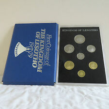 LESOTHO 1979 7 COIN PROOF SET - sealed pack/cover