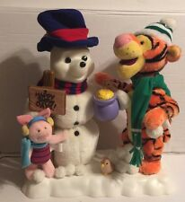 TELCO DISNEY WINNIE THE POOH TIGGER, PIGLET MUSIC  ANIMATED CHRISTMAS MOTIONETTE