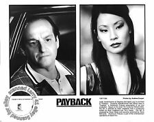 Lot of 3, Mel Gibson, Maria Bello mint stills PAYBACK (1999) Lucy Liu, David Pay