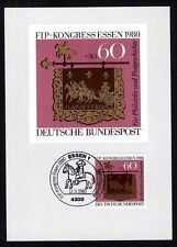 Bund 1065 Maximumkarte Kongreß des internationalen Philatelistenverbandes