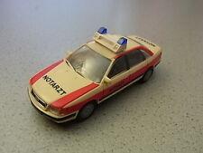 Rietze Audi 100 Notarzt NEF neutral Sammlungsauflösung Audi Sammlung